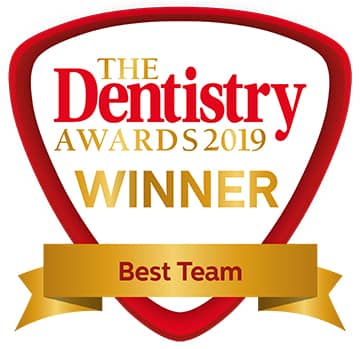 Winner Best Team - Dentistry Awards 2019
